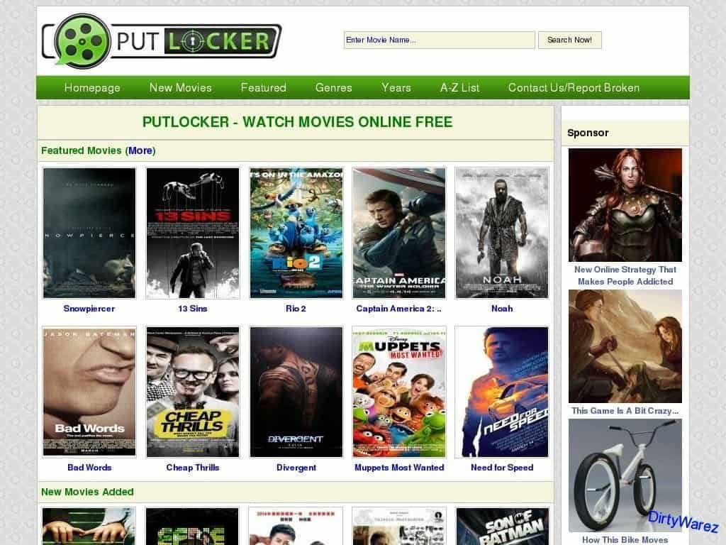 websites to watch free movies on computer