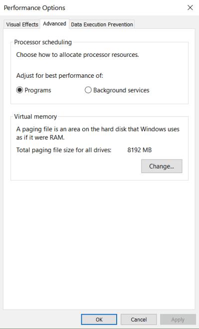 Win32 Priority Separation in Windows 10