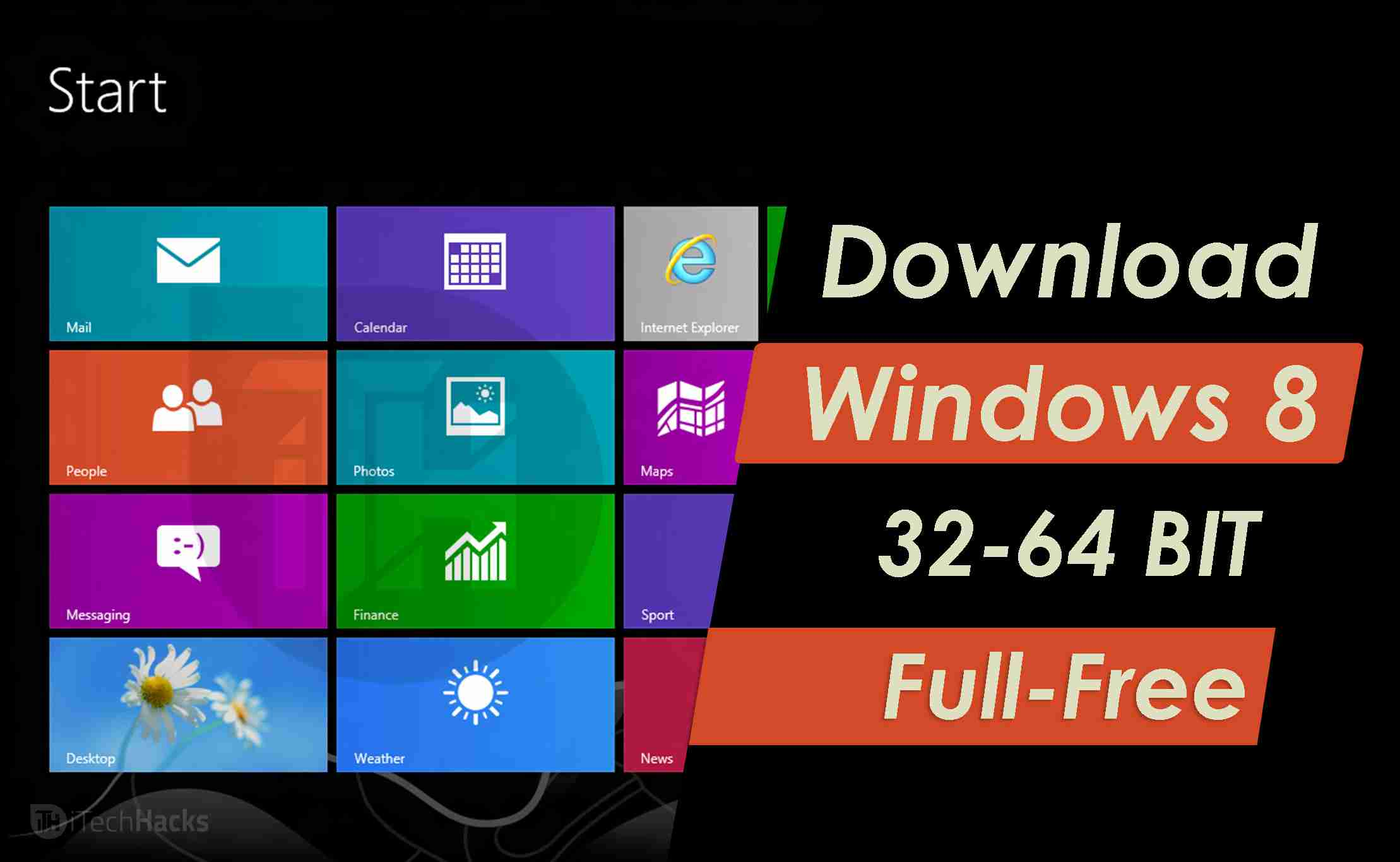 Download Windows 8 (32 Bit-64 Bit) Full Free 2020