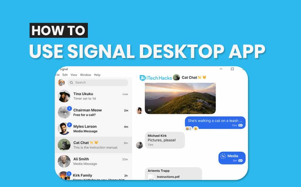 How to Use Signal Desktop App 2021: Chrome, macOS, Windows