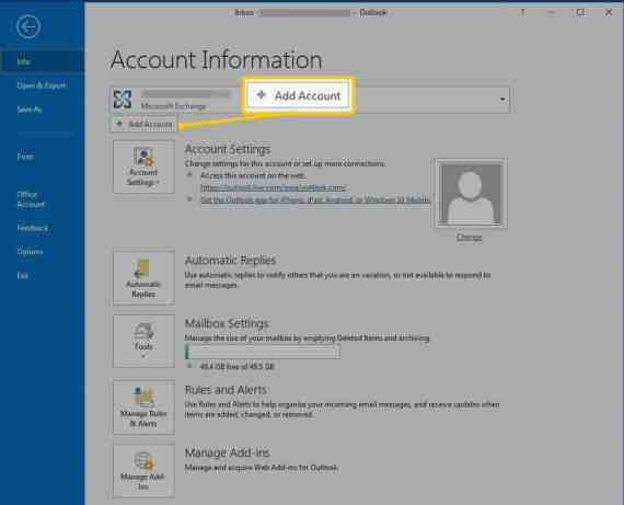 How to Add & Connect Yahoo Mail to Outlook 2016, 2019