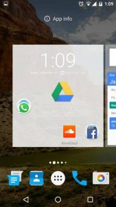 Drag-and-drop-app to change app permissions using Android Marshmallow