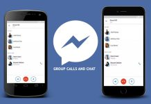 Facebook Messenger Group Calling