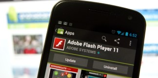 Install Adobe Flash Player on Android 4.1