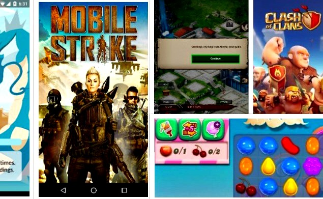 Top 5 Revenue Making Android Games
