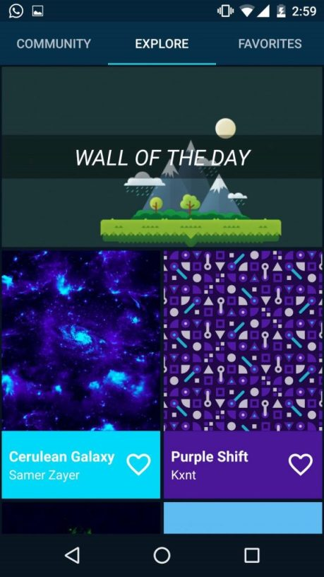 top 5 wallpaper apps for android phone and tablet