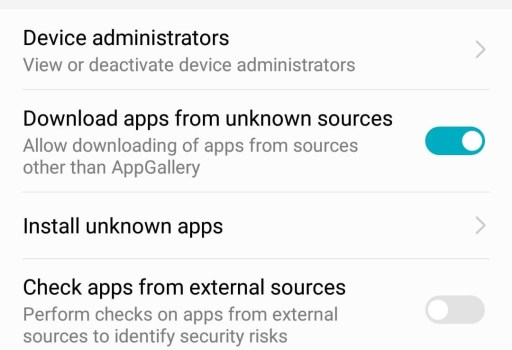 Fix Google Apps on Huawei after EMUI 9 Update