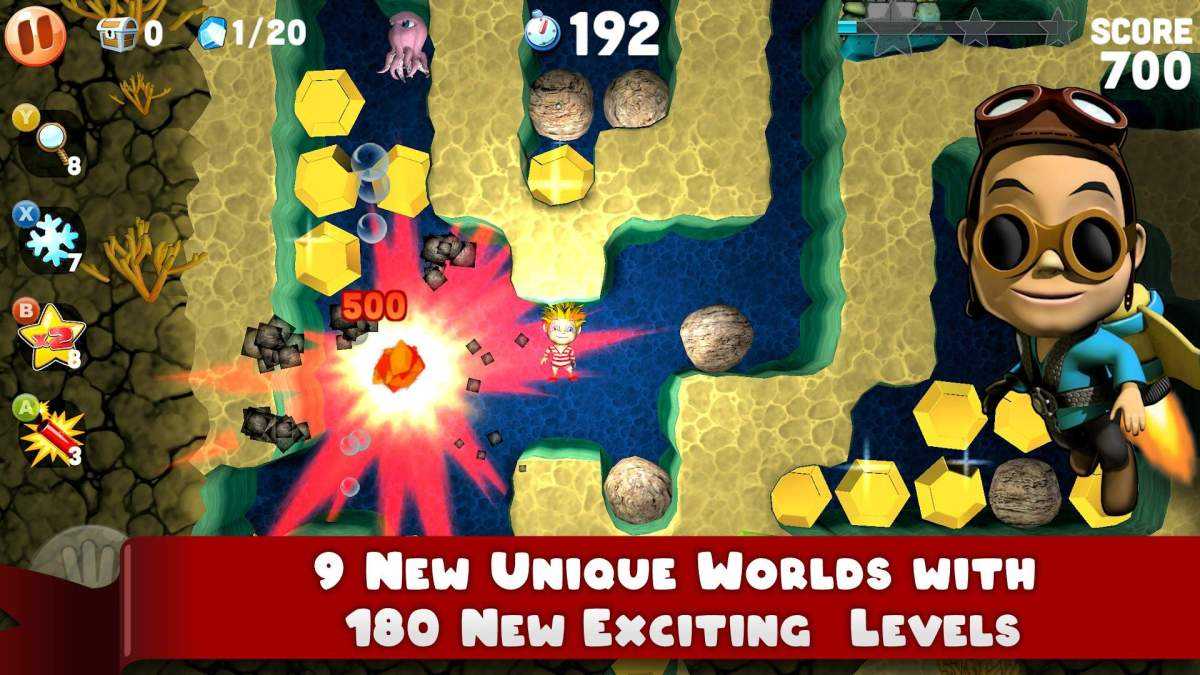 Boulder Dash Deluxe Available Now