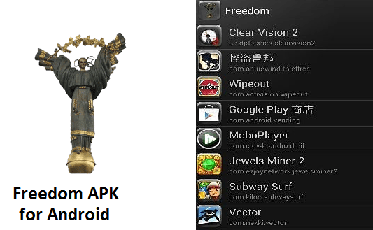 Freedom Apk game hacker