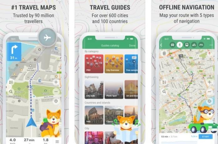 best Offline Map apps