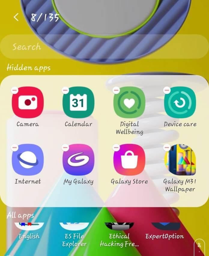 Samsung One UI Home App