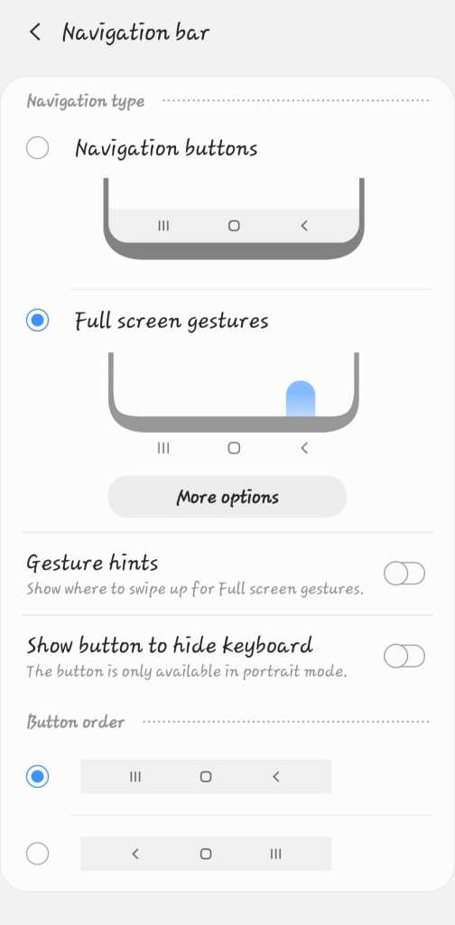 One UI Home App