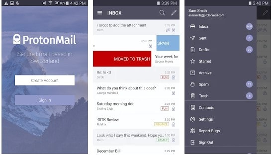 best email apps android