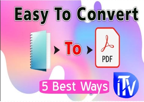 How To Convert TXT to PDF File