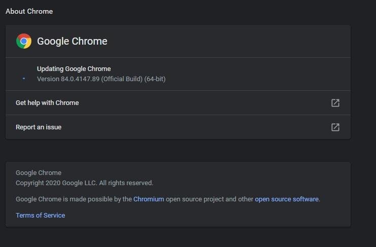 Turn Off Chrome Auto Updates