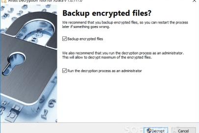 Ransomware Decryption Tools 2020