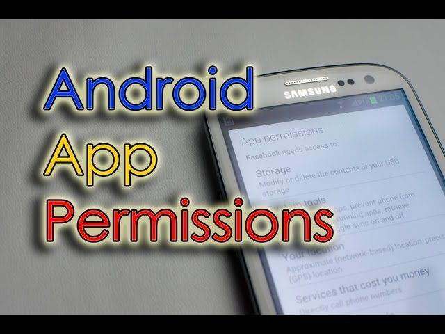 Automatically Remove Permissions Android
