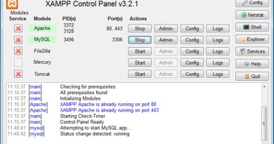 How to install and configure XAMPP on Windows 10