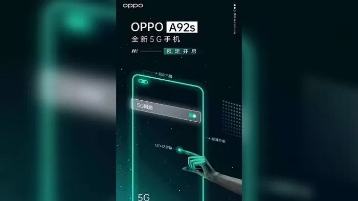 Oppo A92s On the way – 5G