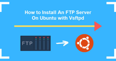Install an FTP server (vsftpd) on Ubuntu