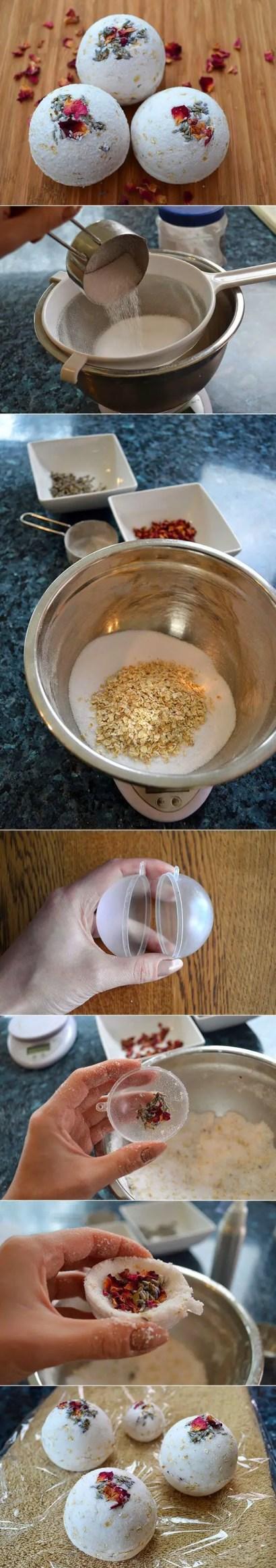 oatmeal bath bombs recipe