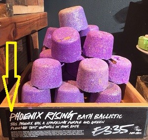 Phoenix Rising Bath Bomb Review From Lush