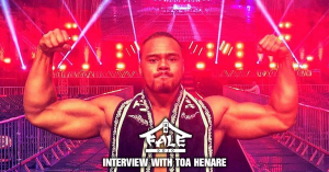 Interview with New Japan Pro Wrestling star Toa Henare