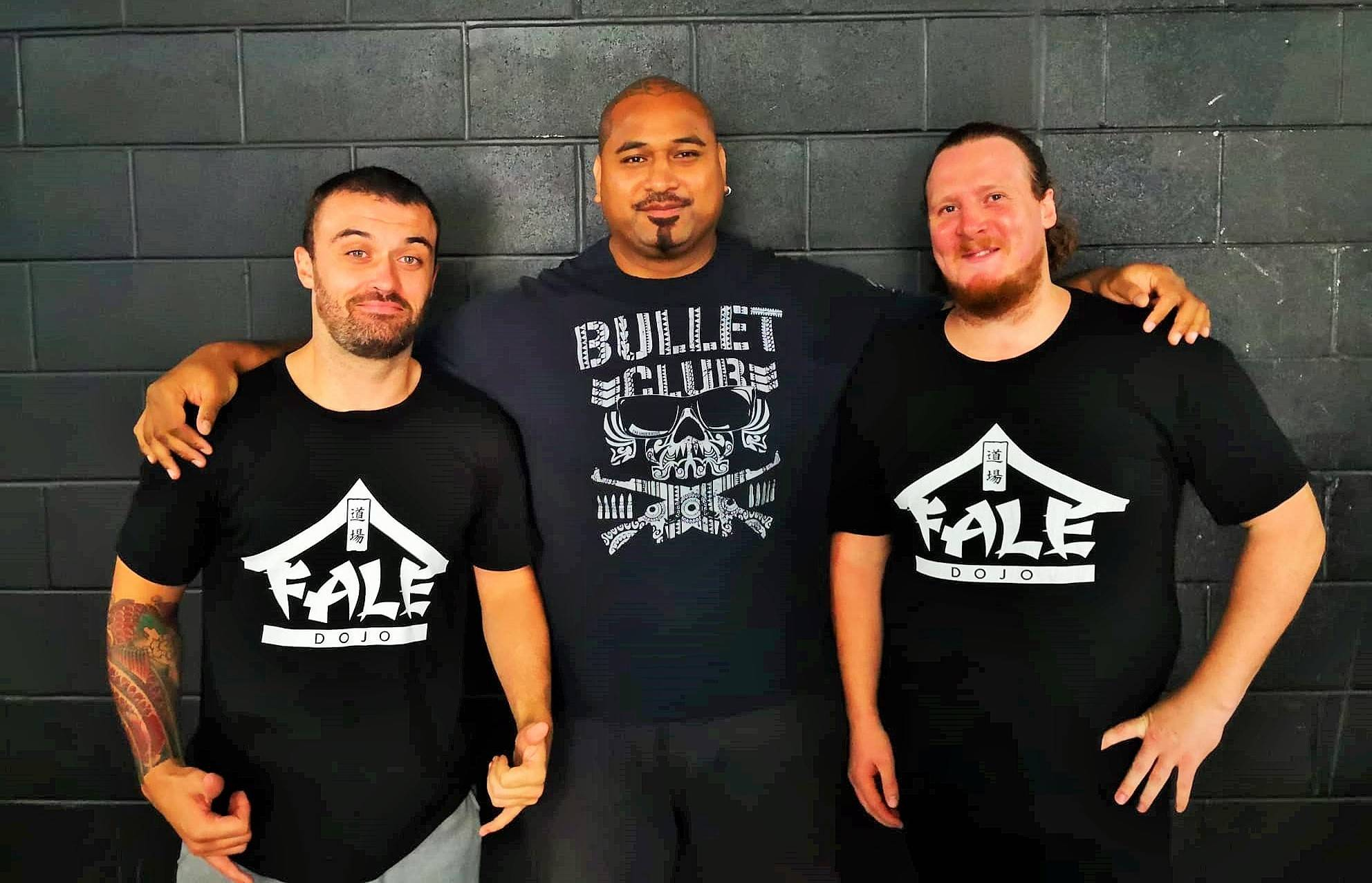 Fale Dojo Young Lions Liam Fury and Patrick Schischka join NJPW Dojo