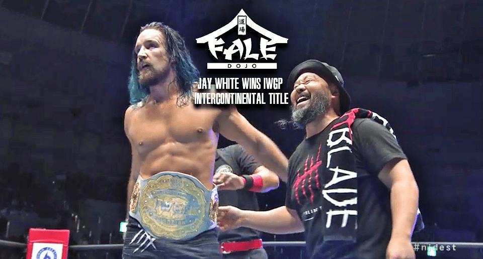 Jay White wins IWGP Intercontinental Title