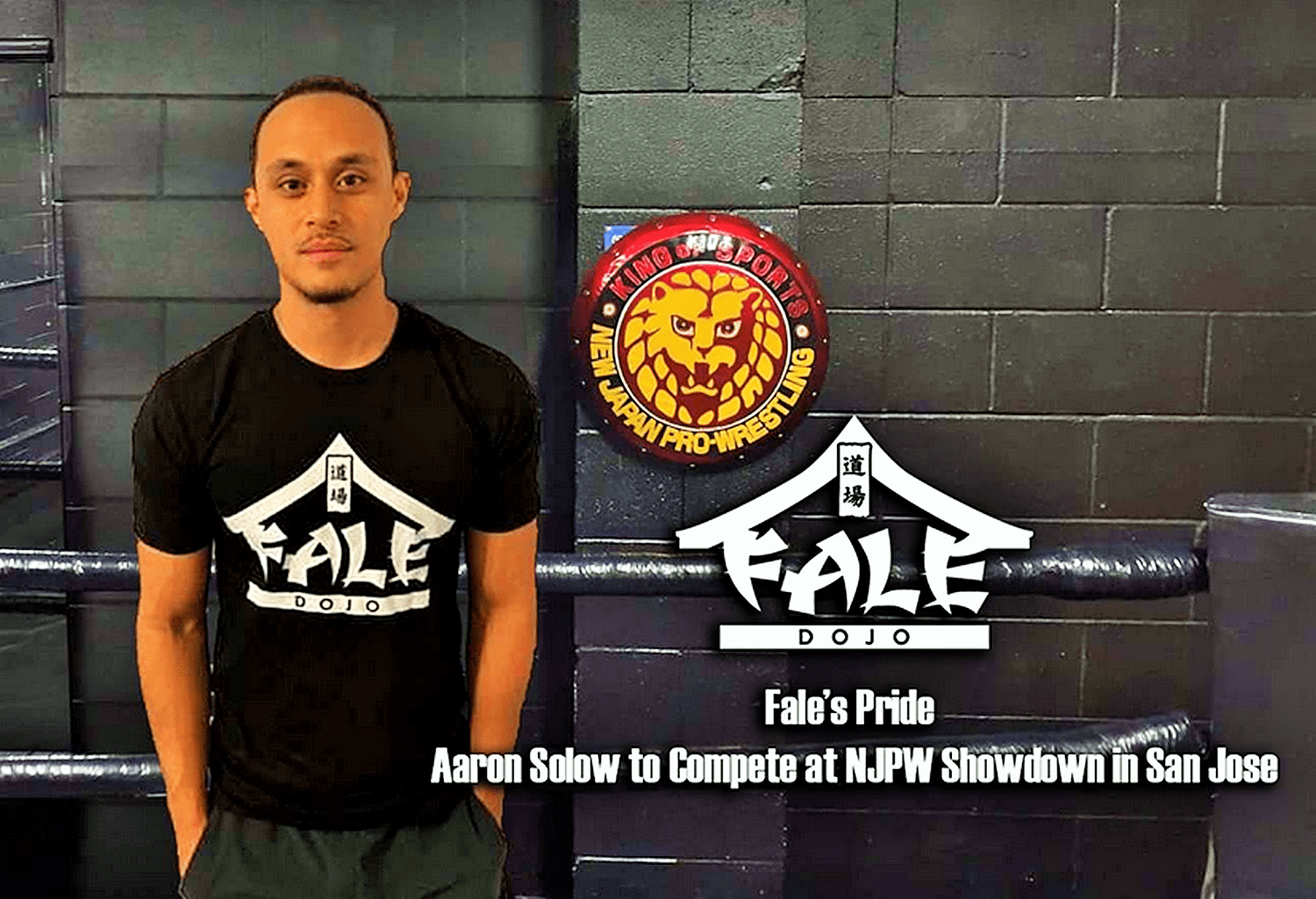 Fale's Pride – Aaron Solow to Compete at New Japan Showdown in San Jose