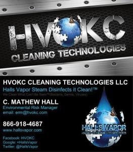 HVOKC CLEANING TECHNOLOGIES, LLC