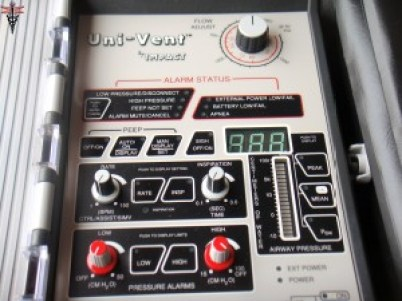 Uni-Vent 750 Portable Ventilator