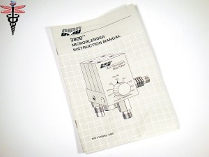 Bird 3800 Microblender Manual