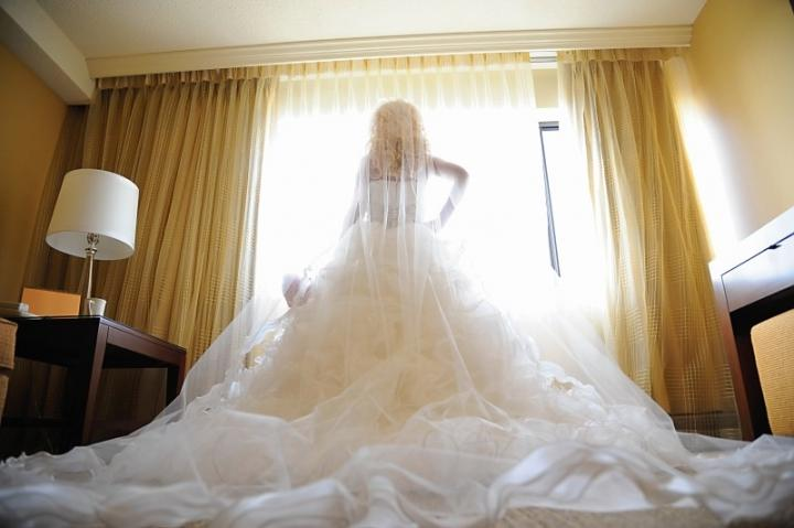 Justin Alexander Customized Couture-style Ballroom Gown