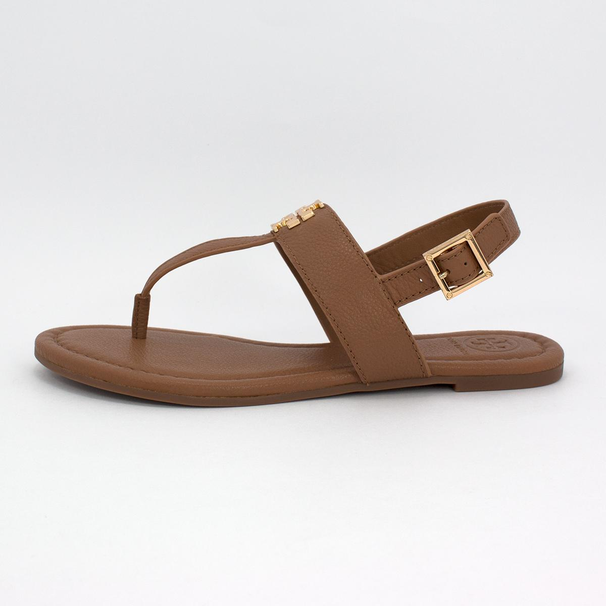 Tan And Gold Sandals