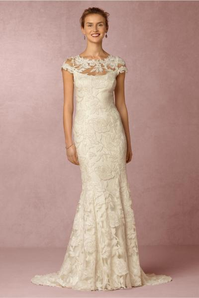 BHLDN Wedding Dresses   Up to 70  off at Tradesy BHLDN Ivory Lace Elinor Vintage Wedding Dress Size 4  S