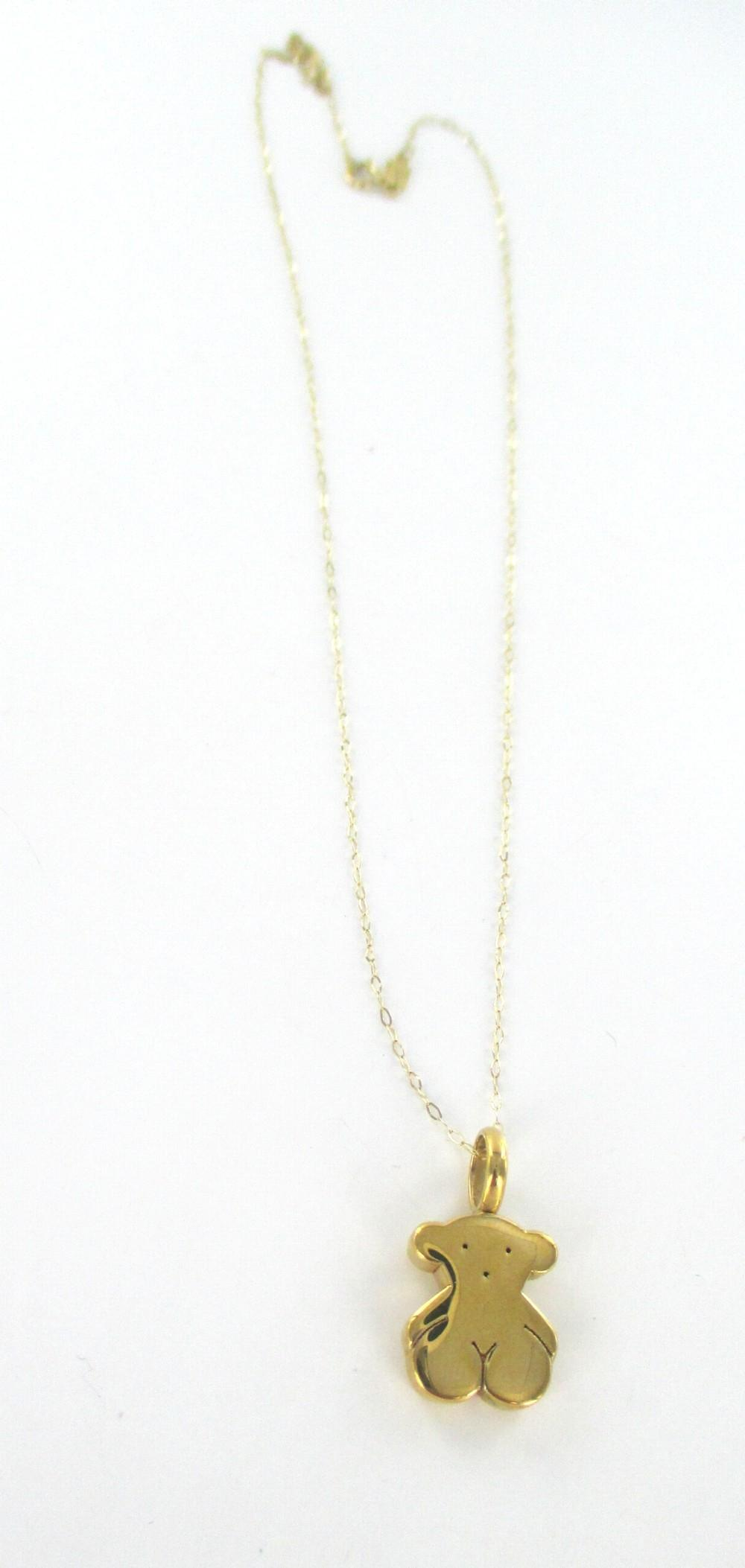 TOUS Gold Necklace TOUS Jewelry Tradesy