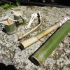 【キャンプで遊べるおもちゃを作ろう!】簡単な竹の弓矢