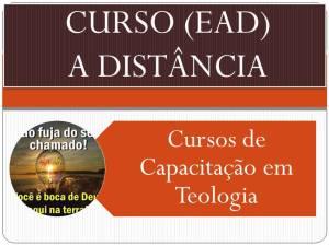 Cursos de capacitação em teologia.