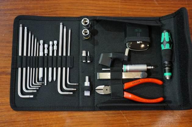 Wera Guitar tool set