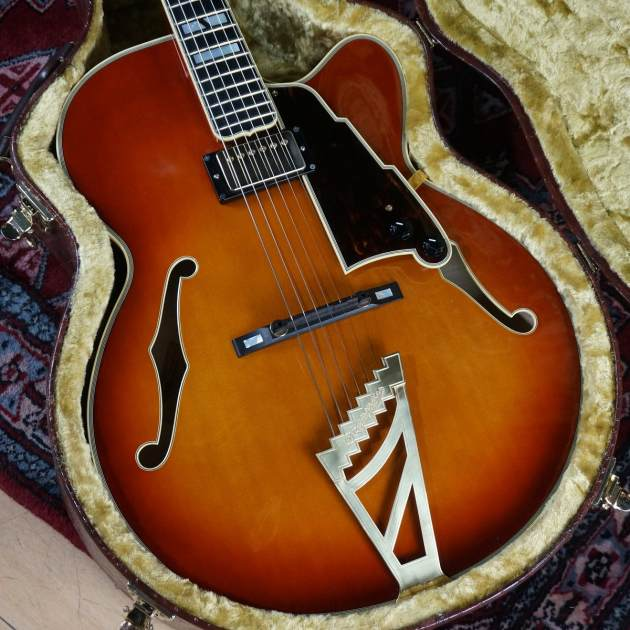 D'Angelico NYL-2 FH VF w/ K&T Gold Tone / used