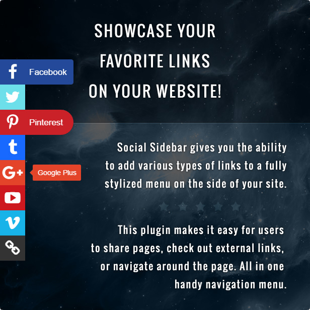 Showcase Your Favorite Links On Your Website!