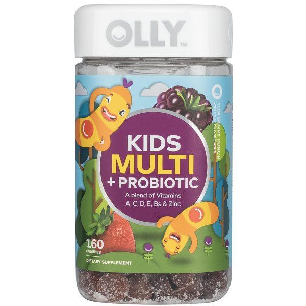 Multi-Probiótico, Gomitas En Vitamina. Olly (160 Gomitas).
