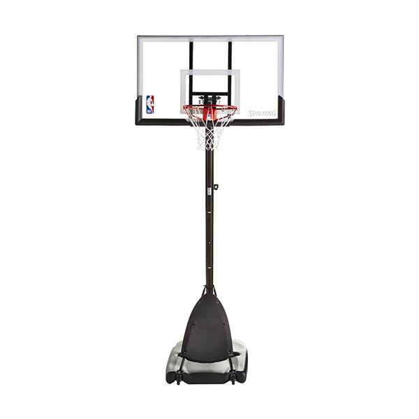 """Aro De Baloncesto Portátil Ajustable, Con Tablero De Policarbonato , Spalding NBA. 1.37 m (54"""")."""