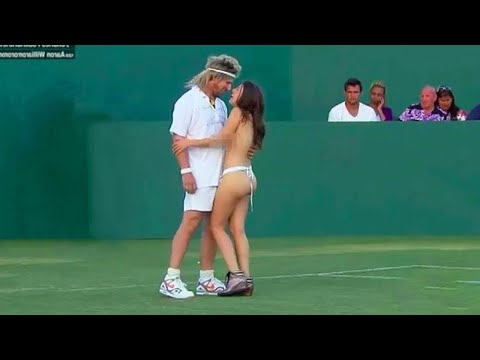 20 INAPPROPRIATE TENNIS MOMENTS SHOWN ON LIVE TV