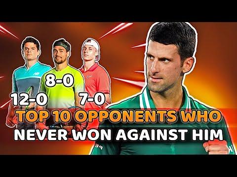 Novak Djokovic – Top 10 Opponents Who Never Won Against Him