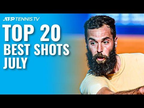 Top 20 Best Tennis Shots and Rallies | July 2021