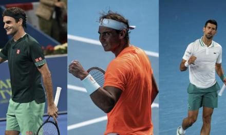 This will be the first time since 2009 that Roger Federer, Nadal and Djokovic…