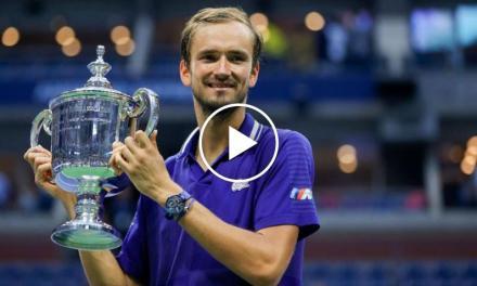 US Open 2021: Daniil Medvedev's CHAMPIONSHIP-POINT