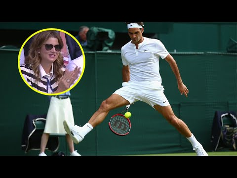 The Day Roger Federer Invented a *NEW* Tennis Shot (Magical Improvisation)
